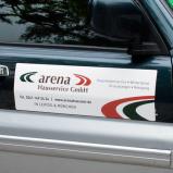 Magnetfolie für Fahrzeuge